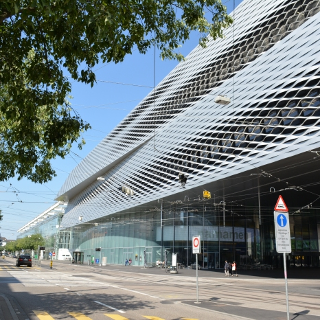 Basel Convention Center Side View 4
