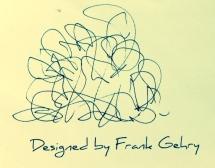 A FRANK GEHRY DESIGN