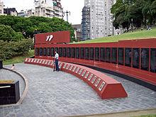 MONUMENTO A'DOS DE MALVINAS