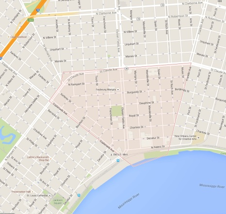 THE MARIGNY DISTRICT