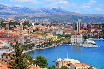 croatia-split-aerial-view