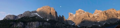 Dolomites Full Moon